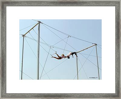 Trapeze School Framed Print by Brian Wallace