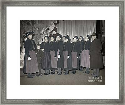 Trapp Family Singers 1945 Framed Print by Martin Konopacki Restoration