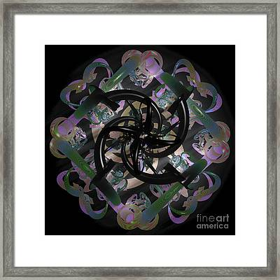 Trapped Emotion Framed Print by Sara  Raber