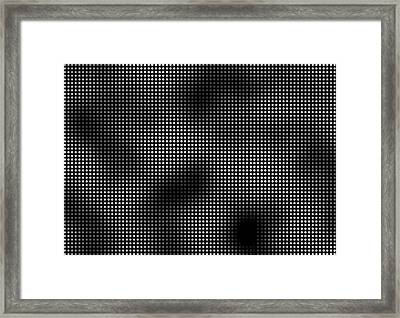 Trapped In The 5th Dimension Framed Print by Daniel Hagerman
