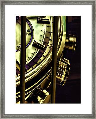 Framed Print featuring the painting Trapped In Time by Muhie Kanawati