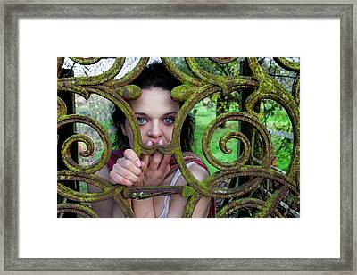 Trapped Framed Print by Semmick Photo