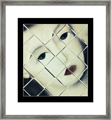 Trapped Framed Print by Susan Leggett