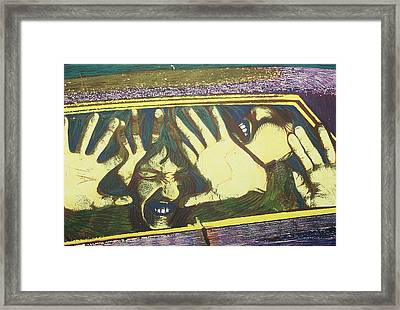 Trapped Within Your Prejudice Framed Print by Corey Habbas