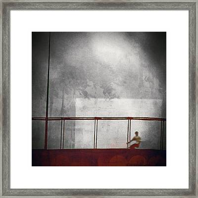 Trapped Within Myself Framed Print by Trish Mistric