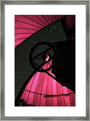 Trappist Telescope Framed Print by Eso/e.jehin