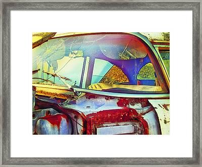 Trashed Treasure Framed Print by Christi Kraft