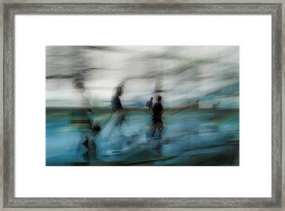 Framed Print featuring the photograph Travel Blues by Alex Lapidus