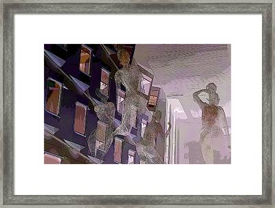 Travel Fantacy Framed Print