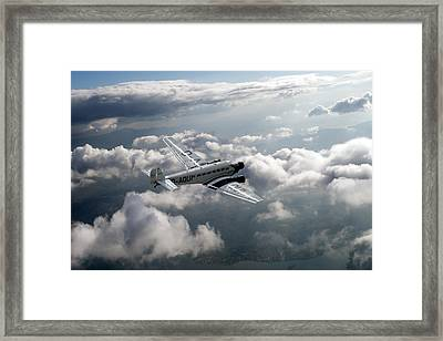 Travel In An Age Of Elegance Framed Print
