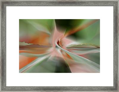 Travel Into Otherwhere Framed Print