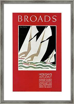 Travel Poster, 1926 Framed Print by Granger