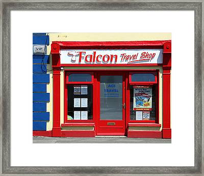 Travel Shop Framed Print