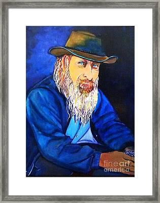 Traveler Framed Print by Ecinja Art Works