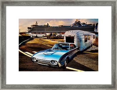 Travelin' In Style Framed Print