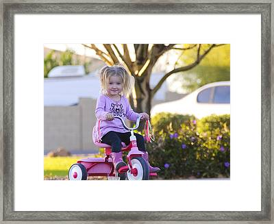 Travelin' Framed Print