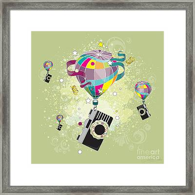 Traveling Camera  Framed Print