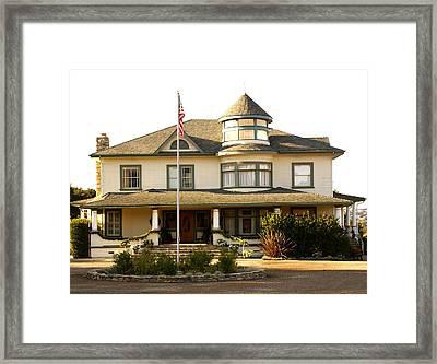 Traveling House Framed Print by Barbara Snyder