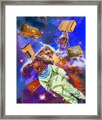 Traveling Light Framed Print by Dominic Piperata