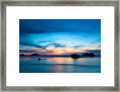 Traveling The Infinite Framed Print