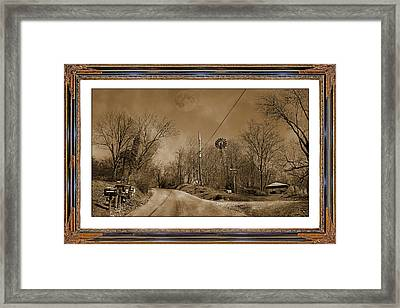 Traveling Through Oz Framed Print