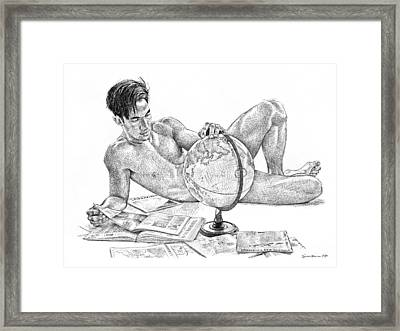 Traveller Framed Print by Douglas Simonson