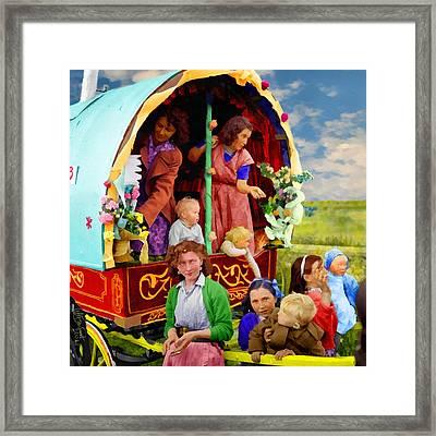 Travellers Framed Print