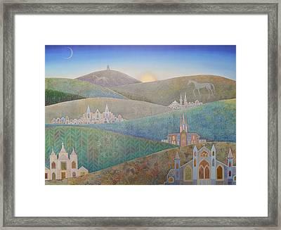 Travelling South Westward Framed Print by Jennifer Baird