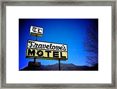 Travelowe's Framed Print by Brandon Addis
