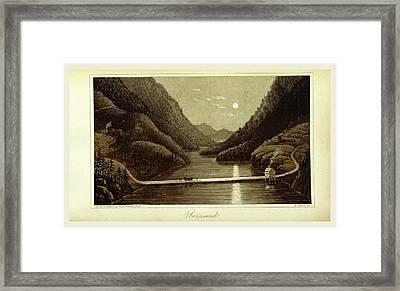 Travels In Norway, Sweden, Denmark, Swinsund Framed Print by Litz Collection