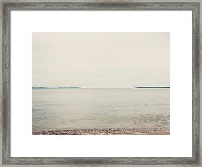 Traverse Bay Framed Print by Elle Moss