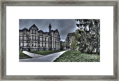 Traverse City State Mental Hospital Framed Print by Twenty Two North Photography