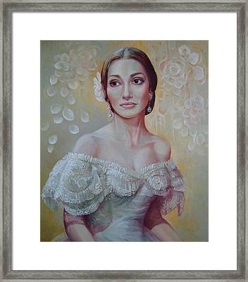 Traviata Framed Print