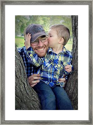 Travis And Tucker Framed Print