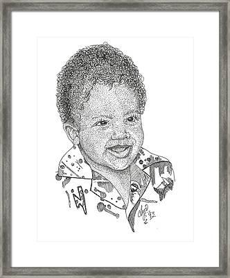 Travis Framed Print