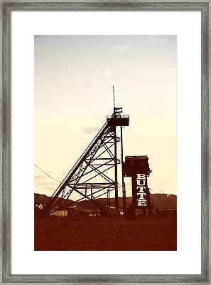 Framed Print featuring the photograph Travona Photochrom by Kevin Bone