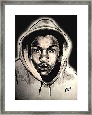 Trayvon Framed Print