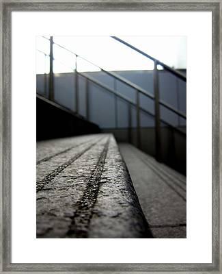 Tread Framed Print by Jhoy E Meade