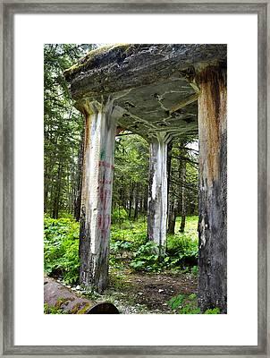 Treadwell Mine Building Framed Print
