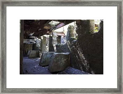 Treadwell Mine Interior Framed Print