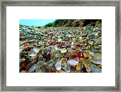 Treasure Beach Framed Print