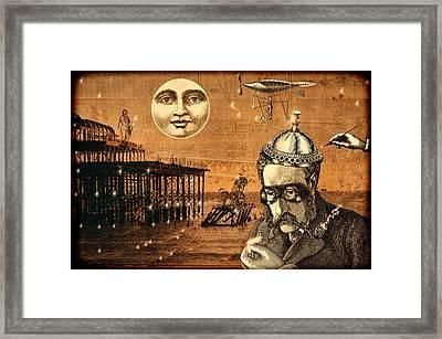 Treasure Steampunk Framed Print by Bellesouth Studio