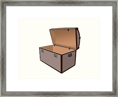 Treasure Box Framed Print by Sinisa Botas
