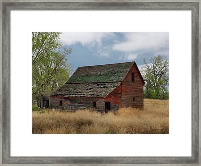 Treasure County Barn Framed Print