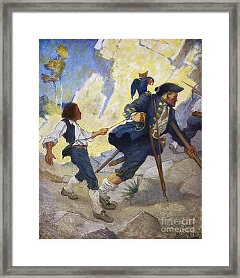 Treasure Island, 1911 Framed Print by Granger
