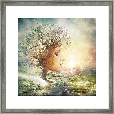 Treasure Framed Print by Mario Sanchez Nevado