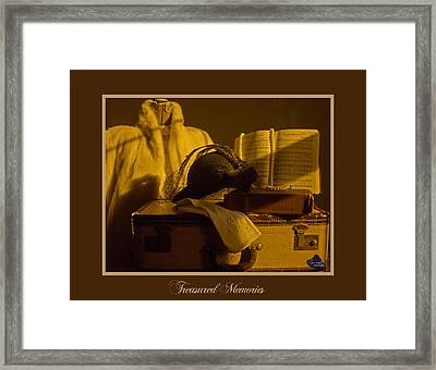 Treasured Memories Framed Print by Gina Munger