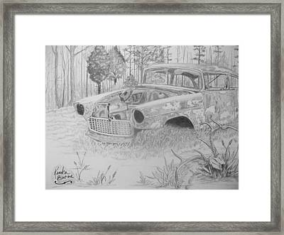 Treasures Framed Print by Kendra DeBerry