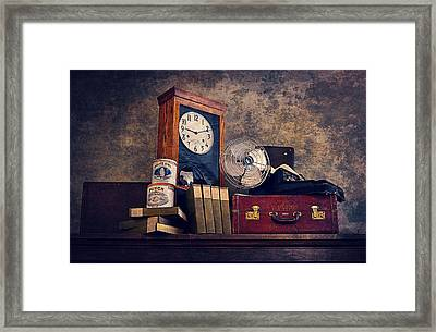 Treasuring Memories Framed Print by Maria Angelica Maira
