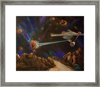 Trek Adventure Framed Print